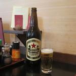 長生庵 - サッポロラガービール大瓶
