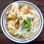 麺の蔵 - 料理写真:かしわかけ