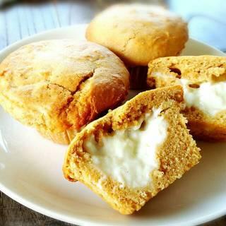ハッピーベリー - 料理写真:【クリームボックス】バニラ香るたっぷりのミルククリームがひえひえとろり 季節限定冷やしマフィン