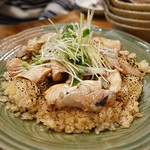 土と青 - 香ばしい炙り魚のうまい飯