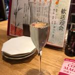 大衆割烹TAKEYA - ワイン酵母のお酒 3尺 400円
