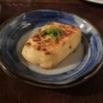 ステーキレストラン パポイヤ - 焼き豆腐