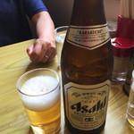 66444270 - 瓶ビール(^∇^)
