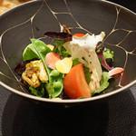 傳 - 有機野菜のサラダ