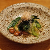 高太郎 - 料理写真:お通し 静岡馬場農園有機春野菜と国産大豆のおひたし