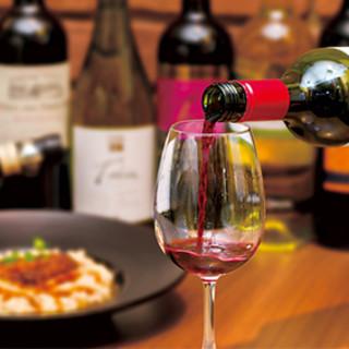肉料理にあうワインを豊富にそろえてます!!