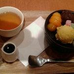 横濱茶房 つくしんぼ - 白玉あんみつ