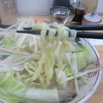 66461811 - タンメン 麺リフト