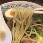 麺座ぎん - 麺アップ