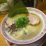 博多長浜らーめん 六角堂 - 料理写真:2017年4月再訪問