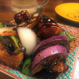 北京式黒酢豚