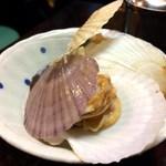 喜来楽 - ホタテ稚貝のソテー
