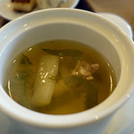 中華喫茶 一紀 - 蒸しスープ