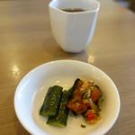 中華喫茶 一紀 - この日の前菜