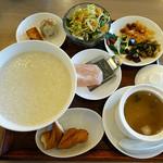 中華喫茶 一紀 - お粥ランチ