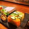 スペインバル sidra - 料理写真:テリーヌ4種盛り()