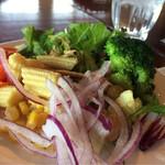 プレストンカフェ - 料理写真:サラダ