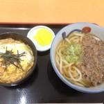 壱 -  ●ミニカツ丼セット ミニカツ丼+うどんorそば 1080円→ランパスvol.8提示で500円