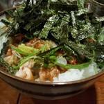 わいるどふぁーむ - 料理写真:焼き鳥丼(大)