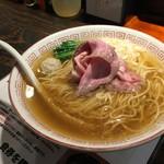 らぁめん 小池 - 相方の煮干しラーメン(780円)