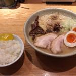つじ田 味噌の章 - 特製味噌ラーメンセット