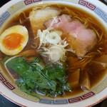 ラーメンニッコウ - 日香麺 晴香 (醤油)