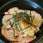 ラーメンニッコウ - 豚たたき飯