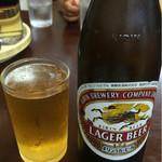みん亭 - 瓶ビール(中瓶) 650円