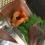 キッチン ウィル - サービスで赤貝