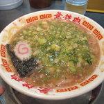 無鉄砲 - 魚正油ラーメン750円 麺少なめネギ多め