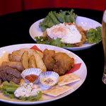 サーカスカフェ - 歓送迎パックのお料理♪ボリューム満点です