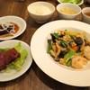 くろさわ東京菜 - 料理写真:天然エビとキクラゲのたまご炒め