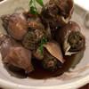 酒嗜 ふる川 - 料理写真:つぶ貝 煮付け  480円