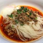 66606837 - 辛さと痺れを感じる担々麺。細打ちの麺と特製タレがよく合っています。