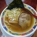 まぐろラーメン大門 - 料理写真:しょうゆ750円