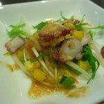 紅蘭亭 - 蛸入りサラダ