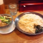 へいぼん - 野菜たっぷり盛りそば(中盛/850円)