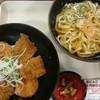 阿賀野川サービスエリア(上り) - 料理写真:タレかつ丼うどんセット(税込み1000円)
