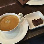 ラ・メゾン・デュ・ショコラ  - コーヒー