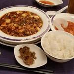 中国料理 桂林 - 「麻婆豆腐セット (2000円)」