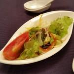 中国料理 桂林 - セットのサラダ