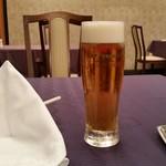 中国料理 桂林 - 生ビールです