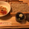 蕎麦きり みよた - 料理写真:天丼並(小)とせいろ  ¥840