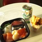 宮崎 丼丸 - 神戸に向かうフェリーで