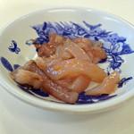 天ぷらひらお - 烏賊の塩辛