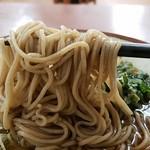 亀よし - 蕎麦リフト