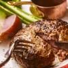 白金豚と国産牛のハンバーグ<200g>