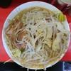 ラーメン二郎 - 料理写真:2017年4月 ぶたラーメン コールはニンニク少し、ヤサイ 700円