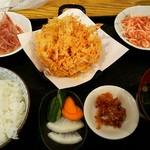 ごはん屋さくら - 桜えび定食¥1130