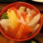 丸喜寿司 - ネタが大きく、種類も沢山。